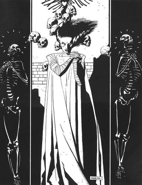 Big Fan of the work by Artist Mike Mignola