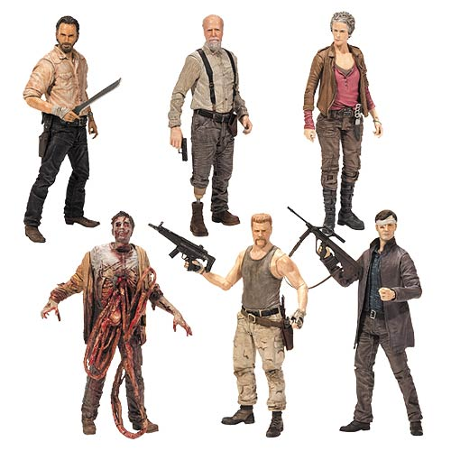 The Walking Dead Action Figures Gallery Vic S Movie Den