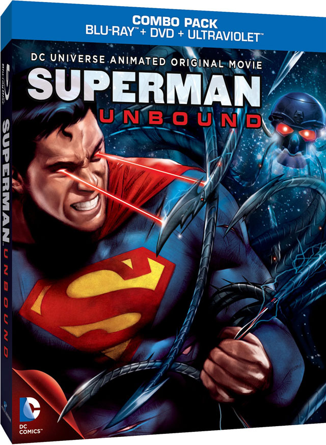 New DC Animated Movie Superman Unbound Blu Ray Coming Soon