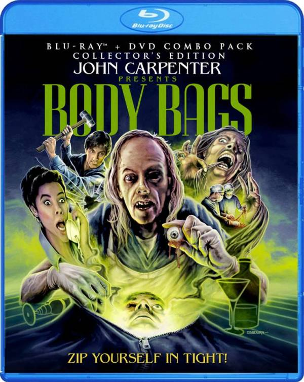 """Body Bags"" anthology movie from Wes Craven, Tobe Hooper and John Carpenter"