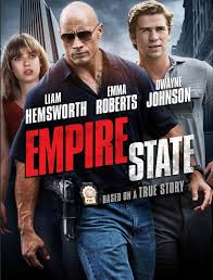 """Empire State"" stars Dwayne Johnson, Liam Hemsworth and Emma Roberts"