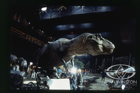 On The Set Jurassic Park 1993 Vic S Movie Den