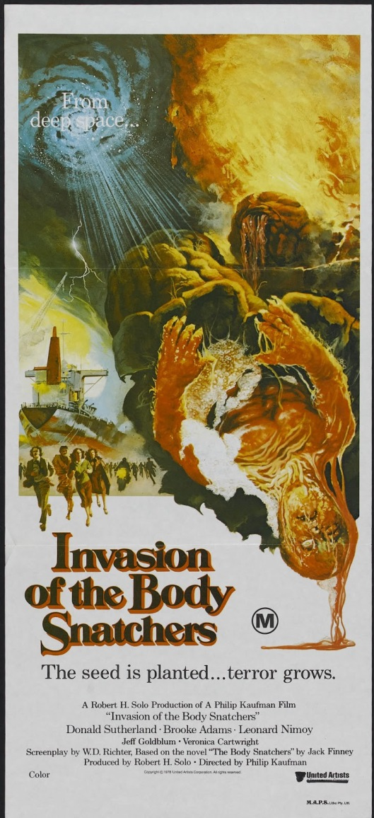 Invasion of the Body Snatchers 1978 poster 2