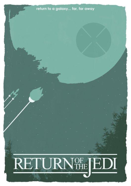 Star Wars - Return Of The Jedi by Matt Ferguson