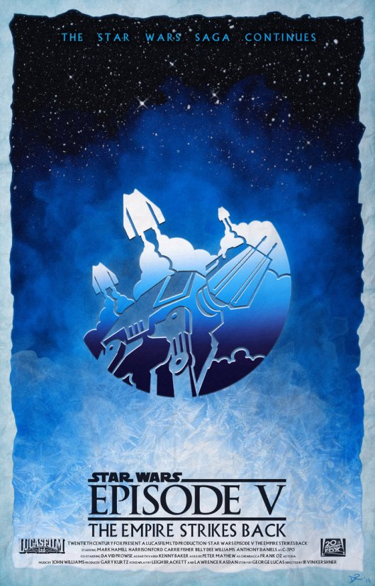 star_wars_episode_v_the_empire_strikes_back_poster_by_danieleredrossini-d7a5d1m