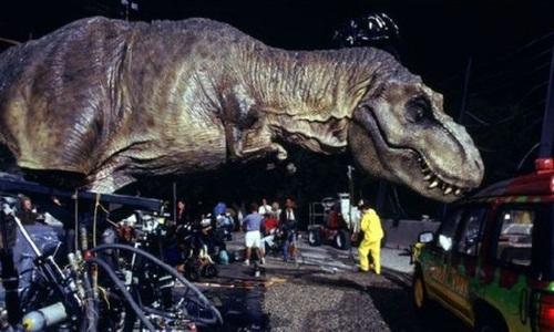 On the set jurassic park 1993 vic 39 s movie den - Film de dinosaure jurassic park ...