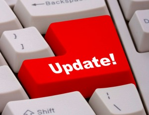 Keyboard Key To Update Software Or Information