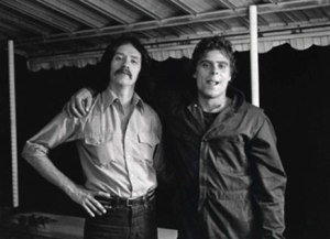 Director John Carpenter and Actor Tony Moran