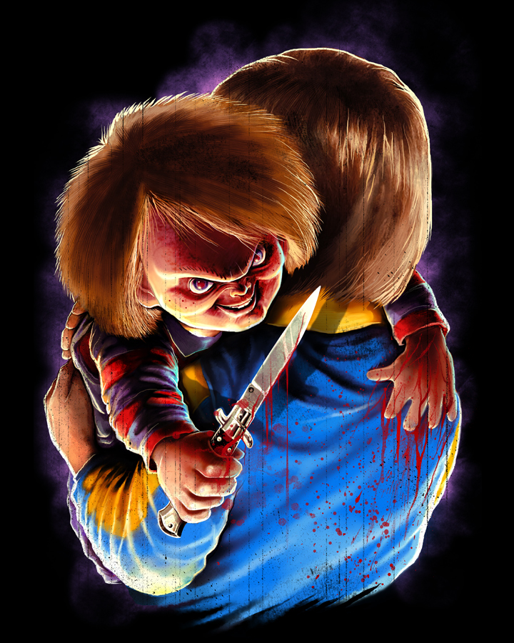 "Chucky Wallpapers: Fright Rags' €�Chucky"" Collection Honors A Horror Icon"