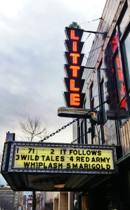 """It Follows"" currently playing at the very awesome ""The Little Theatre"""