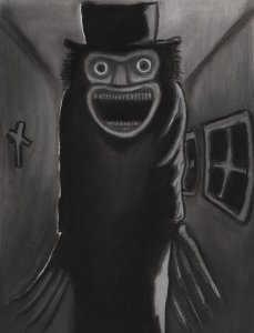 painting-of-babadook-monster