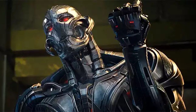 Ultron, voiced by Actor James Spader