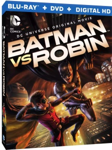 Batman vs Robin Blu ray Cover