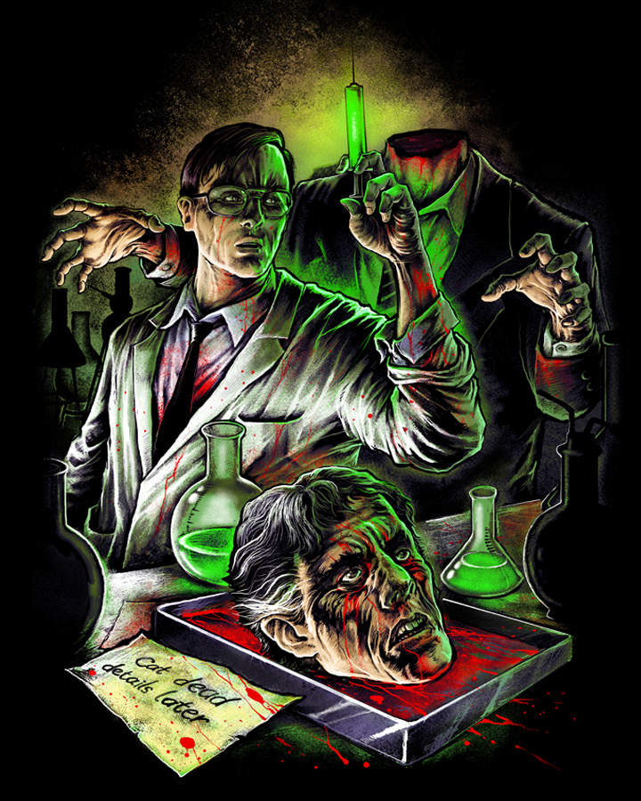 """Fright-Rags brings """"Re-Animator"""" back to life with new shirt"""